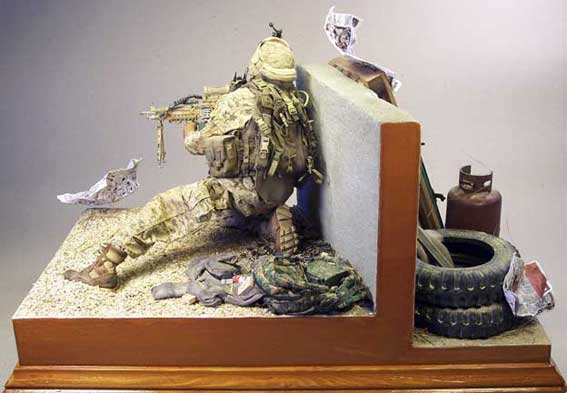 Scale model afghanistan and models on pinterest for Scale model ideas